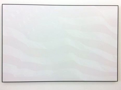 Joao Felino, Washed USA Flag, from series W(ashed)orld Flags, 2010, Cristina Guerra Contemporary Art