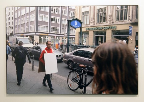 Joao Felino, Sandwiched (in Berlin), Friedrichstrasse, May 20, 2015, , Cristina Guerra Contemporary Art