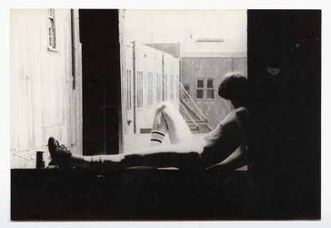 Alvin Baltrop, The Piers (man sitting on windowsill), n.d. (1975-1986), Galerie Buchholz