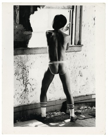 Alvin Baltrop, The Piers (man wearing jockstrap), n.d. (1975-1986), Galerie Buchholz
