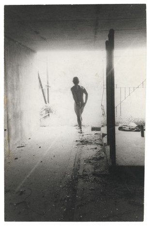 Alvin Baltrop, The Piers (man from behind), 1977-1978 , Galerie Buchholz