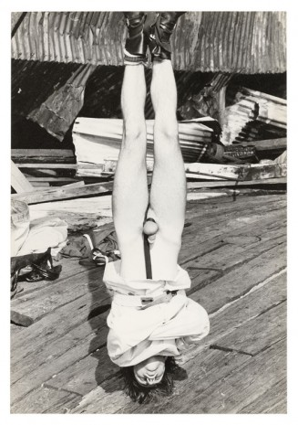 Alvin Baltrop, The Piers (man hung in bondage), n.d. (1975-1986) , Galerie Buchholz