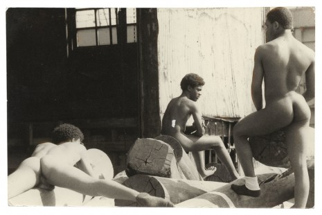 Alvin Baltrop, The Piers (three men on dock), n.d. (1975-1986), Galerie Buchholz