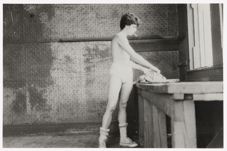 Alvin Baltrop, The Piers (man going through clothing), n.d. (1975-1986) , Galerie Buchholz