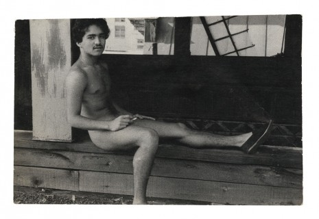 Alvin Baltrop, The Piers (man sitting with leg extended), n.d. (1975-1986), Galerie Buchholz