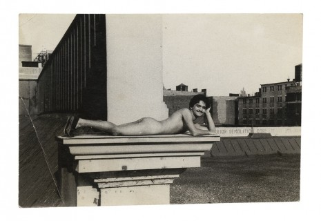 Alvin Baltrop, The Piers (man lying down on ledge), n.d. (1975-1986) , Galerie Buchholz