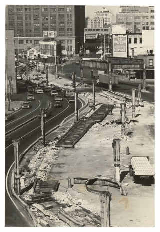Alvin Baltrop, Dismantled elevated West Side Highway, n.d. (1975-1986) , Galerie Buchholz