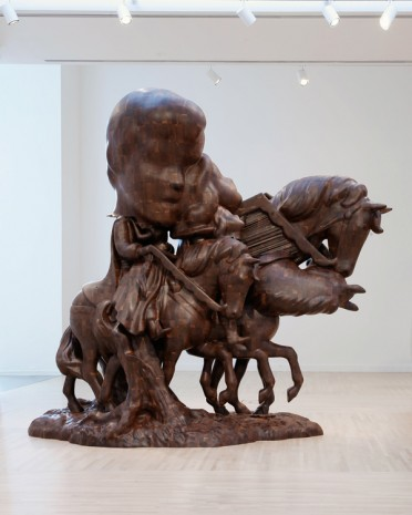 Paul McCarthy, WS, White Snow and Prince on Horseback, Merger, Transformation, Mutation, 2015, Hauser & Wirth
