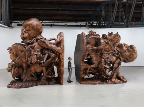 Paul McCarthy, WS, Bookends, 2013 , Hauser & Wirth
