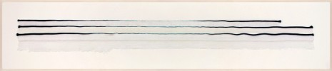 Anne Wilson, Draw Out (blue), 2017, Rhona Hoffman Gallery
