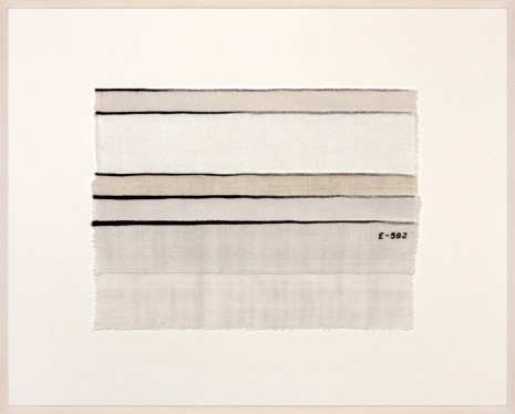 Anne Wilson, Inventory Drawing E-582, 2017 , Rhona Hoffman Gallery