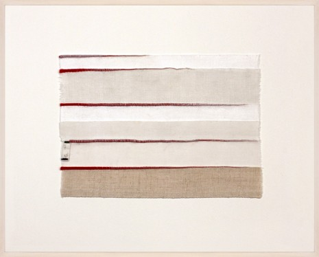 Anne Wilson, Inventory Drawing G., 2017 , Rhona Hoffman Gallery
