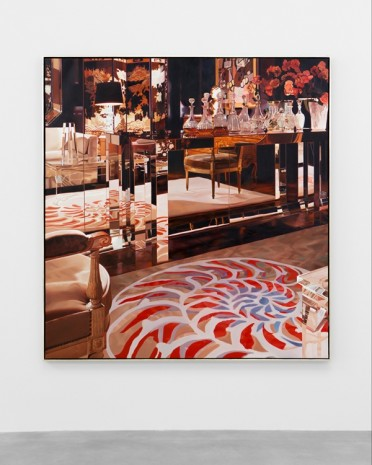 Jack Mendenhall, Mirrored Table with Decanters, 1981 , Matthew Marks Gallery