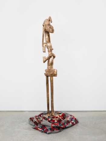 Sanford Biggers, BAM (Seated Warrior), 2017, Marianne Boesky Gallery