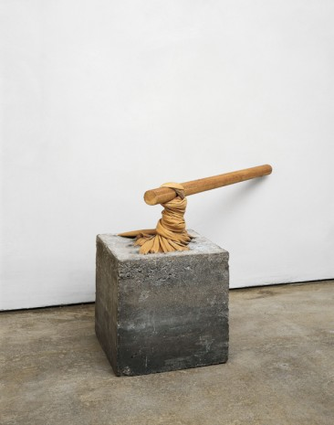 Giovanni Anselmo , Torsione (Torsion), 1968, Hauser & Wirth