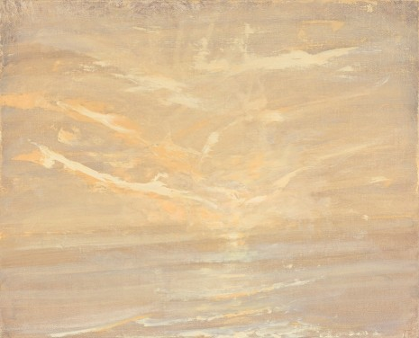 Celia Paul, Sunset Over the Sea, 2017 , Victoria Miro Gallery