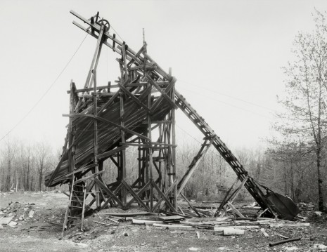 Bernd & Hilla Becher, Minnich Coal Co., Goodspring Mountains, Schuylkill County, USA, 1975, Sprüth Magers