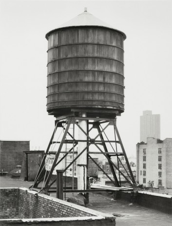 Bernd & Hilla Becher, Wasserturm, Greene/Grand St., New York City, USA, 1979, Sprüth Magers