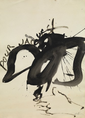 Antoni Tàpies, Pour Jacques, 1995, Galerie Lelong & Co.