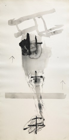 Antoni Tàpies, Paper vertical I, 1999 , Galerie Lelong & Co.