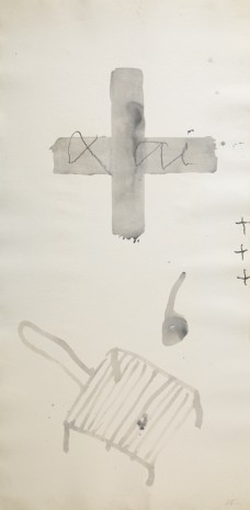Antoni Tàpies, Paper vertical II, 1999 , Galerie Lelong & Co.