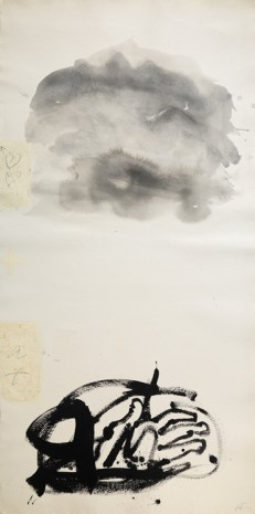 Antoni Tàpies, Paper vertical III, 1999 , Galerie Lelong & Co.