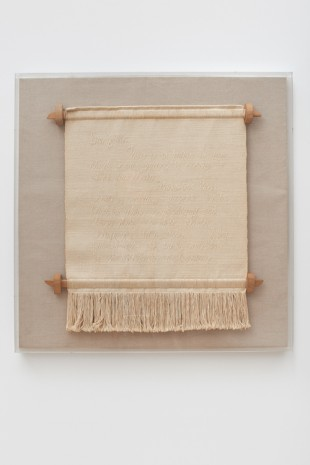 Trude Guermonprez, Notes to John I and John II, 1966 , James Cohan Gallery