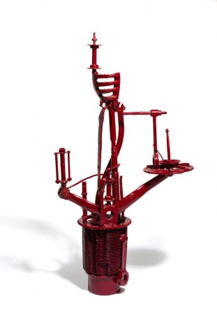 Stano Filko, Model of Observation Tower - Red, 1966 - 1967 , The Mayor Gallery