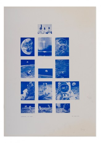Stano Filko, Association XXXI. - 1st Flight - Moon, 1969 , The Mayor Gallery