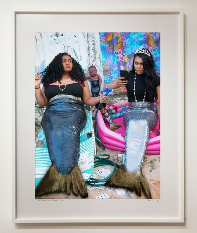 Destiny Deacon, Two fishes out of water, 2017 , Roslyn Oxley9 Gallery