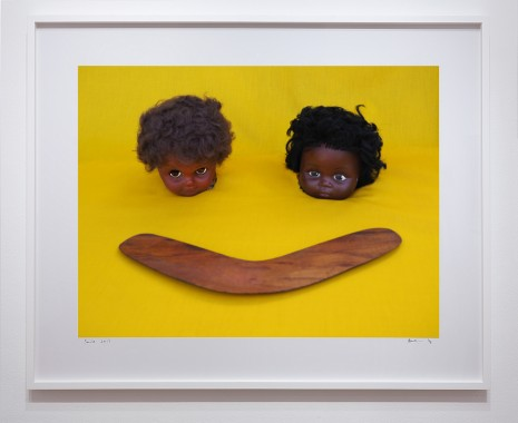 Destiny Deacon, Smile, 2017, Roslyn Oxley9 Gallery