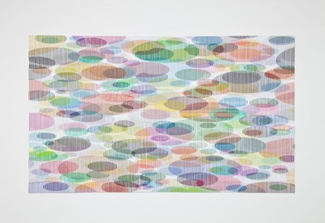 Tom Friedman, Untitled (lily pads), 2012, Luhring Augustine