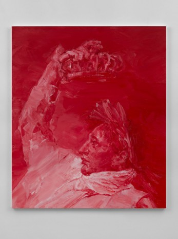 Yan Pei-Ming, Napoleon, Crowning Himself Emperor - Red, 2017, Massimo De Carlo