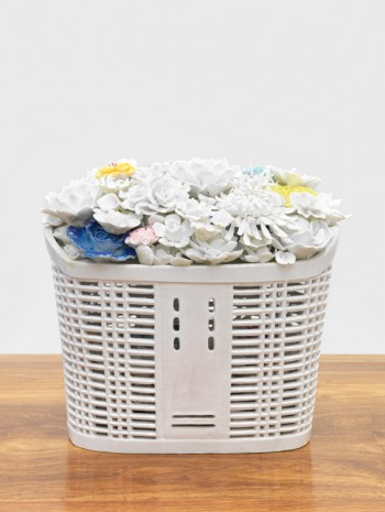 Ai Weiwei, Bicycle Basket With Flowers, 2015, Massimo De Carlo