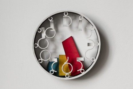 Ricky Swallow, Wall Clock with Primary Parts, 2011, Mary Mary
