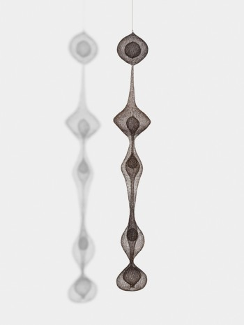 Ruth Asawa, Untitled (S.535, Hanging Five Lobed Continuous Form within a Form and Two Interior Spheres and One Teardrop Form), 1951 , David Zwirner