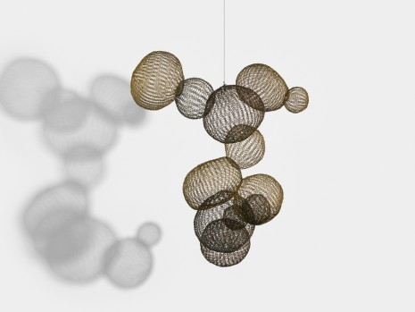 Ruth Asawa, Untitled (S.089, Hanging Asymmetrical Eleven Interlocked Bubbles), c. 1958 , David Zwirner