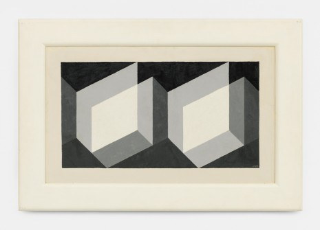 Josef Albers, Modified Repetition, 1943 , David Zwirner