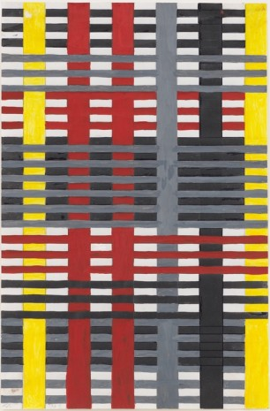 Anni Albers, Design for a 1926 Unexecuted Wallhanging, 1926 , David Zwirner