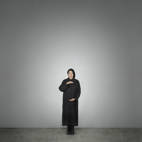 Marina Abramovic, Holding Emptiness (A) (from the series