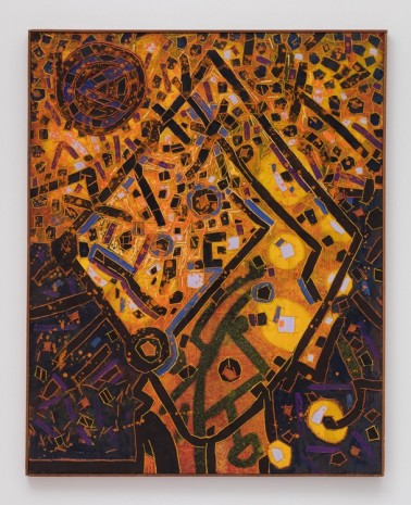 Lee Mullican, Flying, 1965 , James Cohan Gallery
