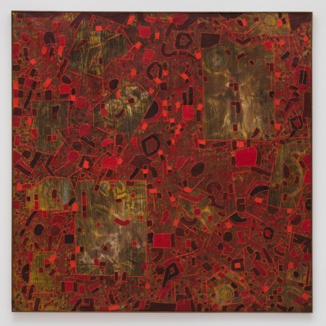 Lee Mullican, Answers from Another World, 1968 , James Cohan Gallery