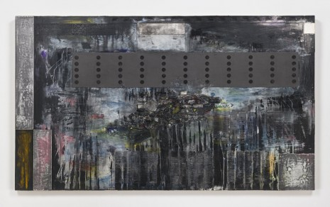 Jack Whitten, The Gift: Dedicated to the Memory of Packy, 1988, Hauser & Wirth