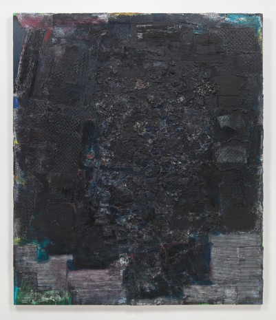 Jack Whitten, Black Monolith I, A Tribute to James Baldwin, 1988 , Hauser & Wirth