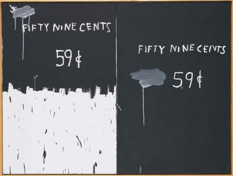 Jean-Michel Basquiat, 2 for a dollar, 1983 , White Cube