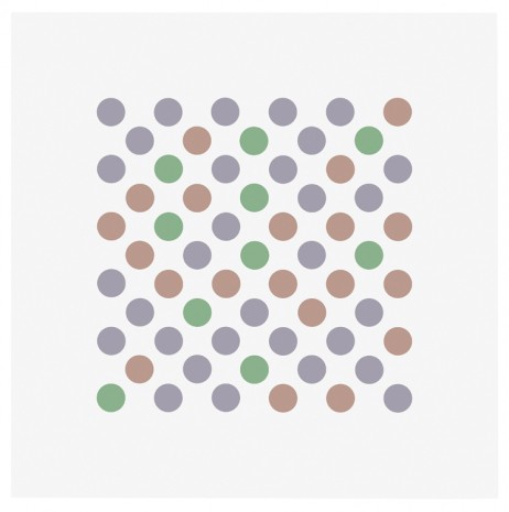 Bridget Riley, Study for Measure for Measure 1, 2016 , Galerie Max Hetzler