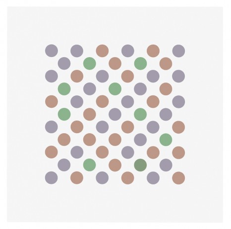 Bridget Riley, Study for Measure for Measure 16, 2017 , Galerie Max Hetzler