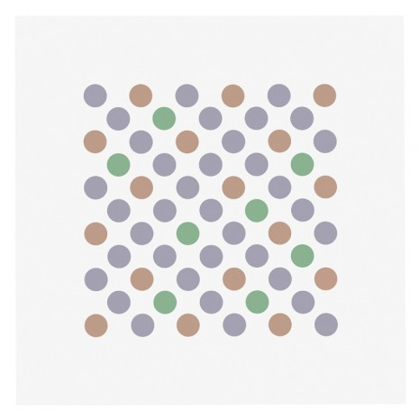 Bridget Riley, Study for Measure for Measure 18, 2017 , Galerie Max Hetzler