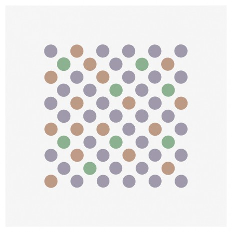 Bridget Riley, Study for Measure for Measure 19, 2017 , Galerie Max Hetzler
