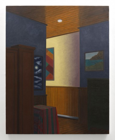 Stephen McKenna, Large Bedroom Interior, 2014, Kerlin Gallery